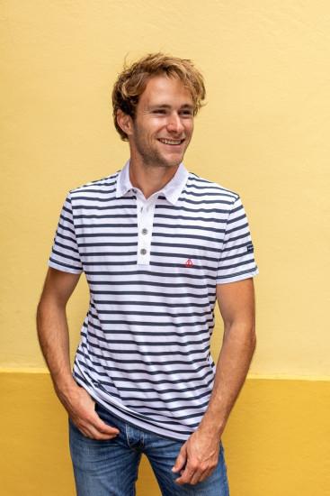 Tee-shirt col polo